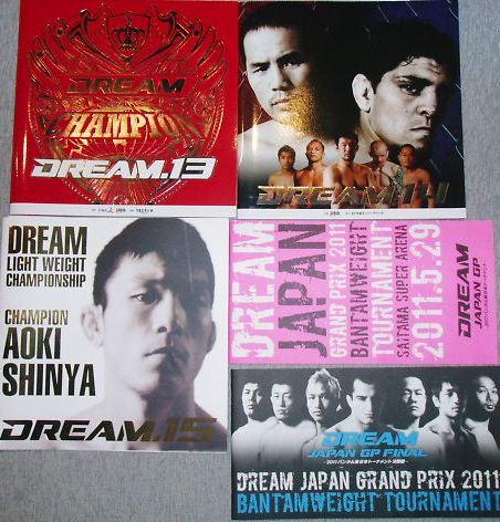 DREAM.13.14.15 JAPAN GP2大会パンフレット表紙