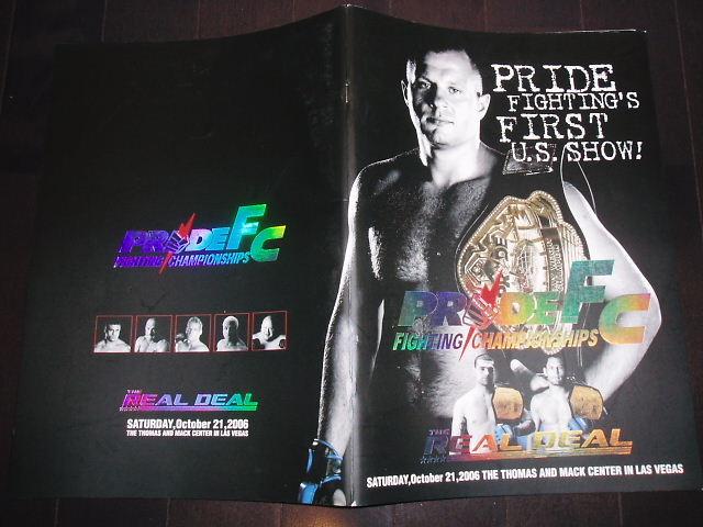 PRIDE.32 パンフレット