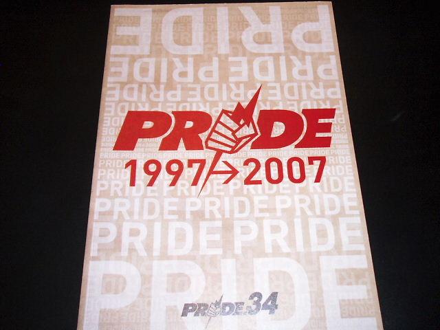 PRIDE.34 パンフレット