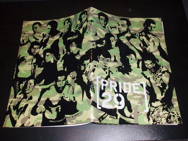 PRIDE.29 パンフレット