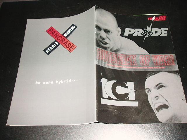PRIDE.20 パンフレット