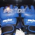 DSE公式商品ミドル級GP2003開幕戦 ヴァンダレイ・シウバVS桜庭和志 サイン入りPRIDEグローブ