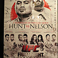 UFC JAPAN2014 サイン入りポスター