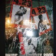 PRIDE GP2005開幕戦 全選手サイン入りポスター