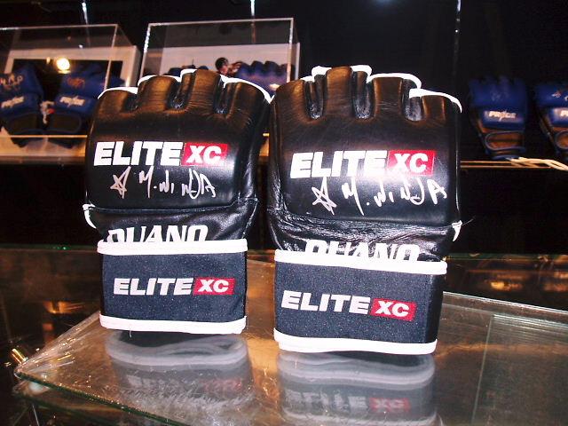 EliteXC 最後の大会でニンジャが使用したグローブ