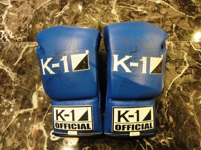 K-1公式グローブ 青