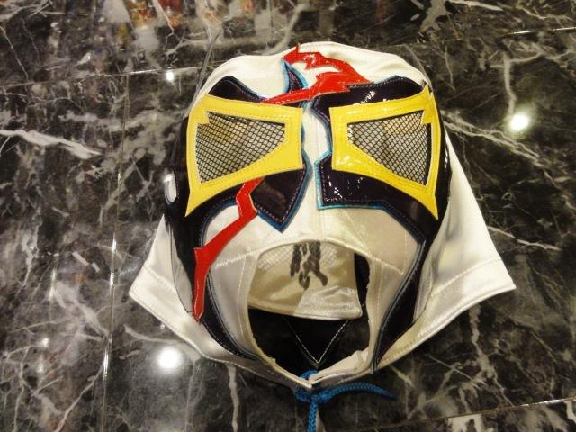 ケンドーカシン PRIDEセコンド時使用マスク