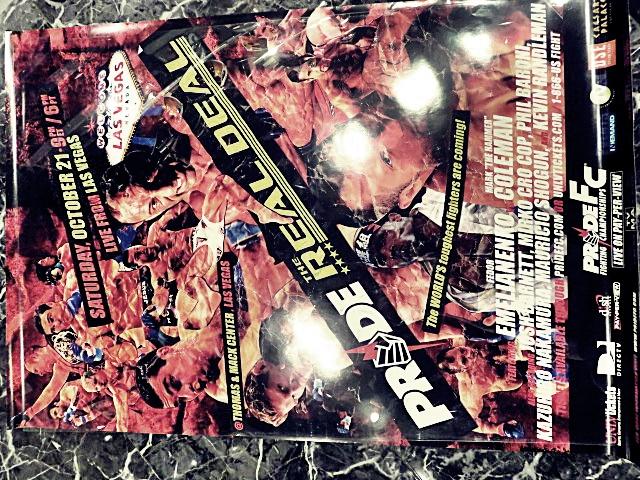 PRIDE.32 大型ポスター